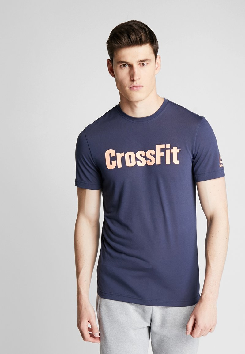 Reebok - CROSSFIT SPEEDWICK GRAPHIC - T-shirt sportiva - royal blue