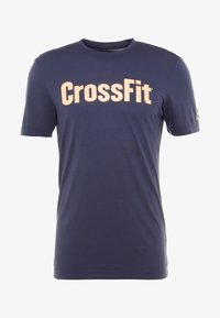 Reebok - CROSSFIT SPEEDWICK GRAPHIC - T-shirt sportiva - royal blue - 4