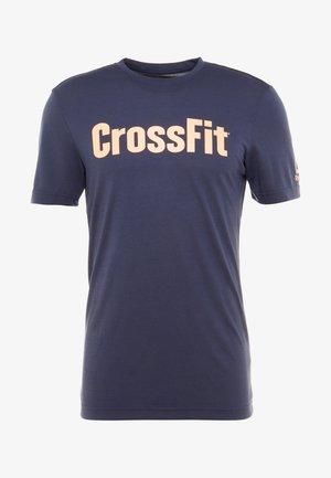 CROSSFIT SPEEDWICK GRAPHIC - Funkční triko - royal blue
