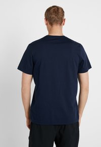 Reebok - TRAINING ESSENTIALS LINEAR LOGO - T-shirt sportiva - blue - 2