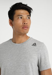 Reebok - CLASSIC TEE - T-shirt basic - medium grey heather - 3