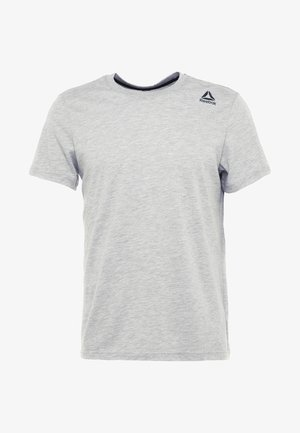 CLASSIC TEE - Basic T-shirt - medium grey heather