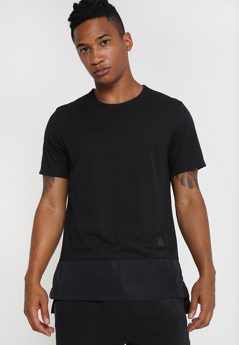 Reebok - TECH TEE - T-Shirt basic - black
