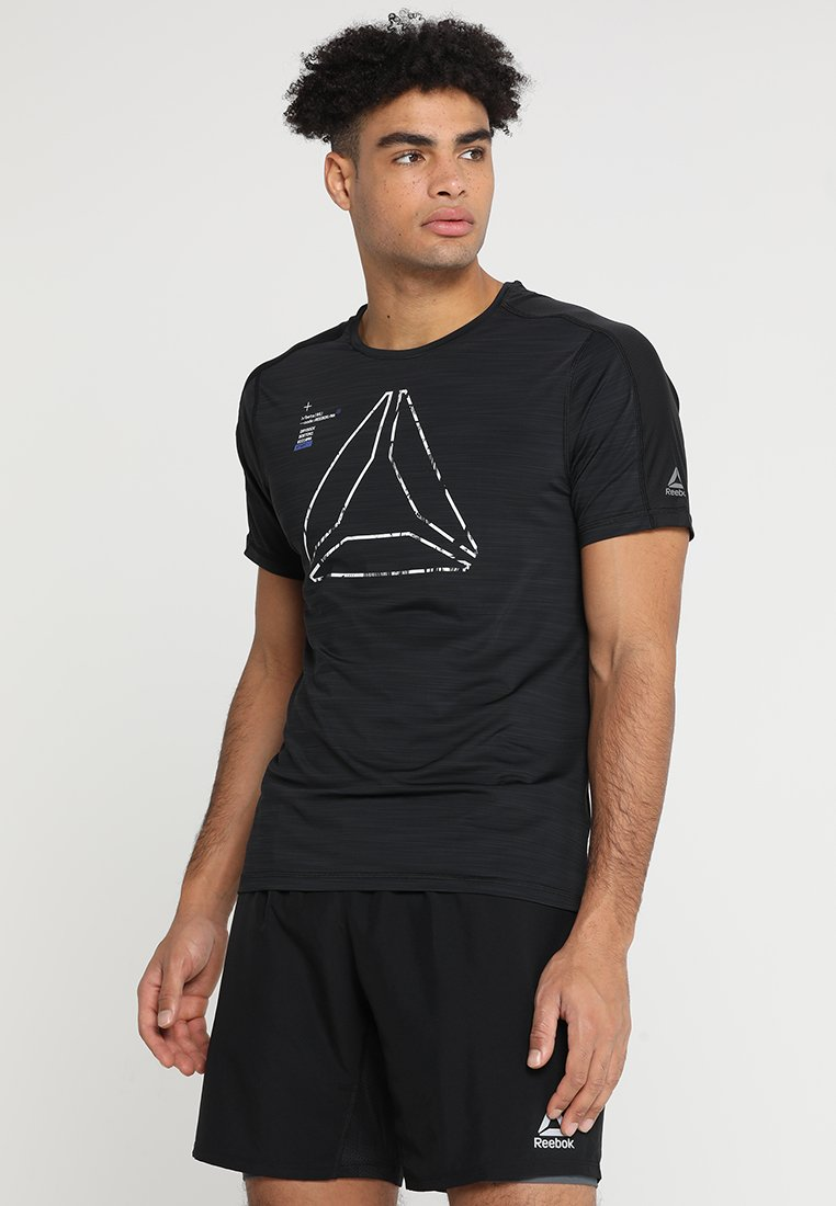 Reebok - OST ACTIVCHILL GRAPHIC  - T-Shirt print - black