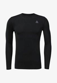 Reebok - COMPRESSION - T-shirt de sport - black - 0