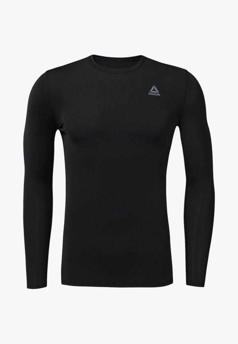 Reebok - COMPRESSION - T-shirt de sport - black