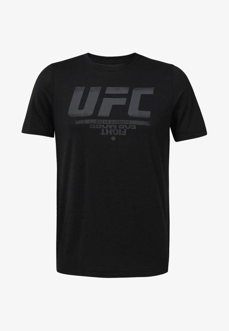 Reebok - UFC FAN GEAR - T-shirt con stampa - black