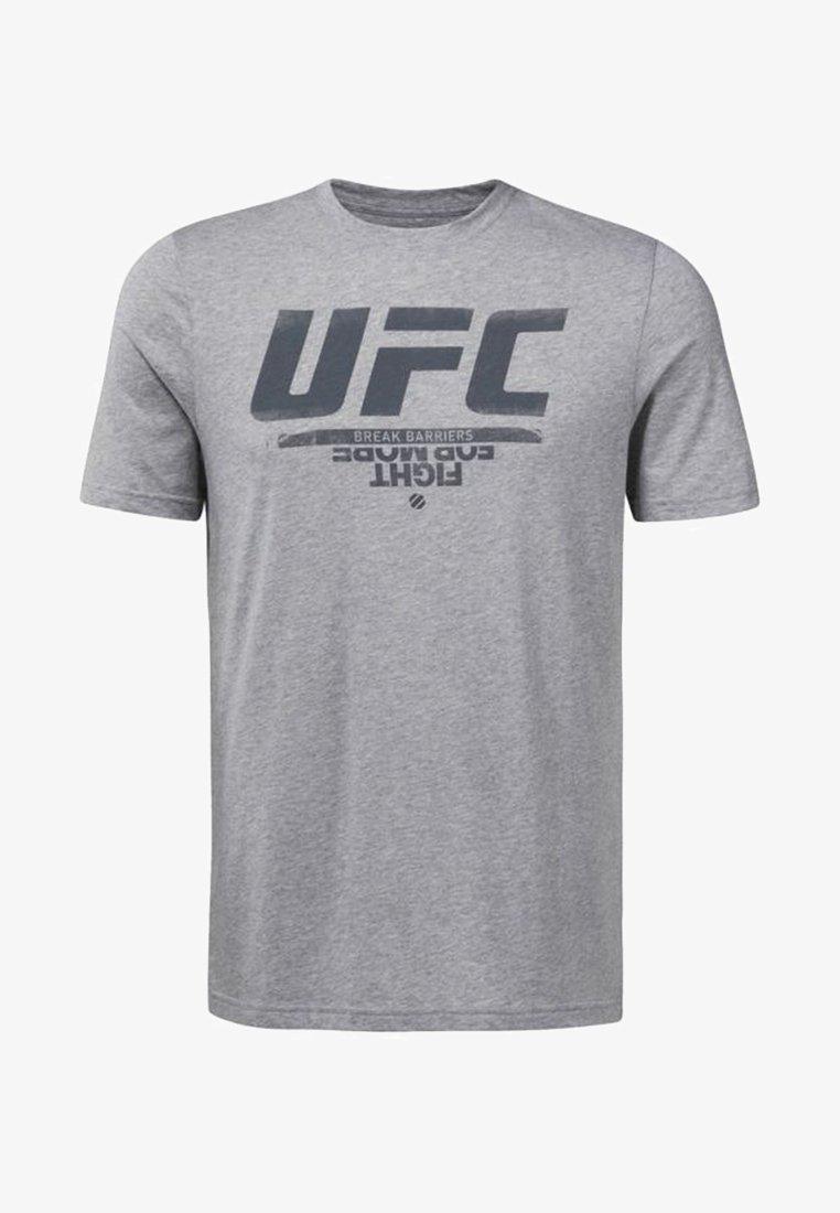 Reebok - UFC FAN GEAR - T-shirts print - grey