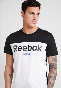 Reebok - TRAINING ESSENTIALS LINEAR LOGO - Camiseta de deporte - black - 3