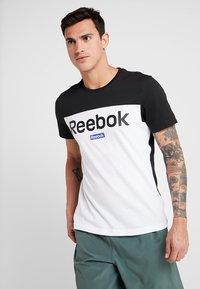 Reebok - TRAINING ESSENTIALS LINEAR LOGO - Camiseta de deporte - black - 0