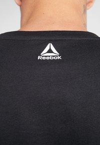 Reebok - TRAINING ESSENTIALS LINEAR LOGO - Camiseta de deporte - black - 5