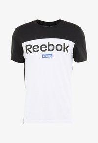 Reebok - TRAINING ESSENTIALS LINEAR LOGO - Camiseta de deporte - black - 4