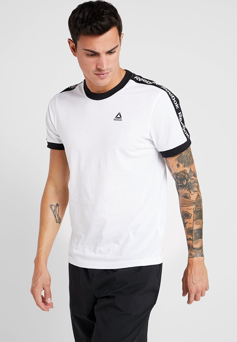 Reebok - GRAPHIC TEE - Print T-shirt - white