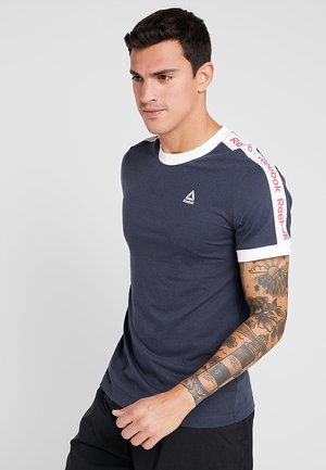 GRAPHIC TEE - T-shirts med print - navy