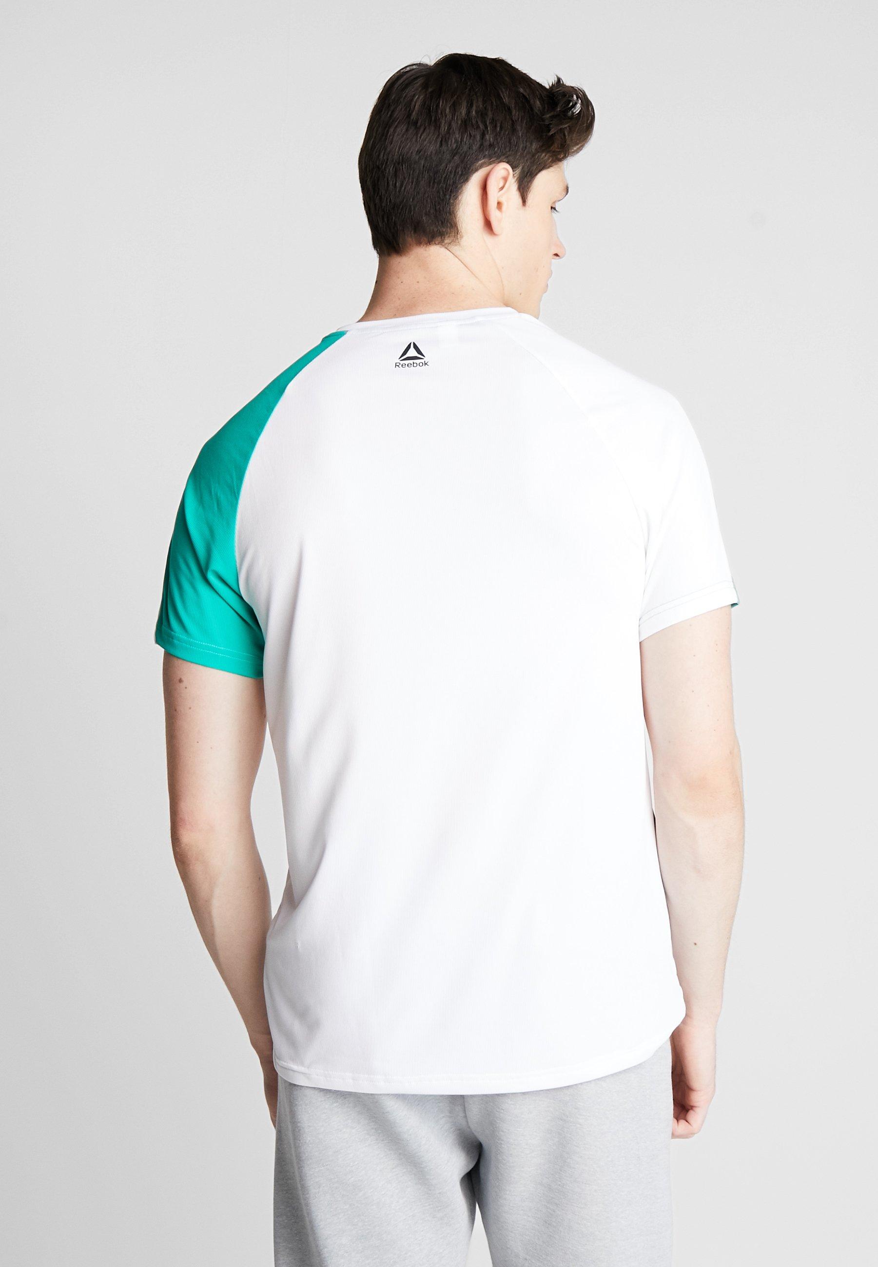 BLOCKED print TEET Reebok Shirt white OST hCrBotxsQd