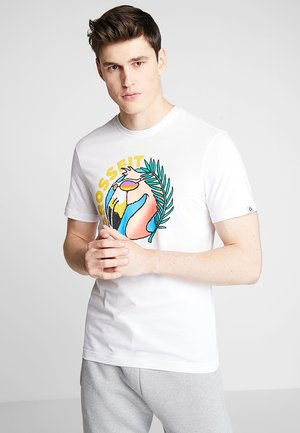 FUNKY FLAMINGO CROSSFIT GRAPHIC TEE - Camiseta de deporte - white