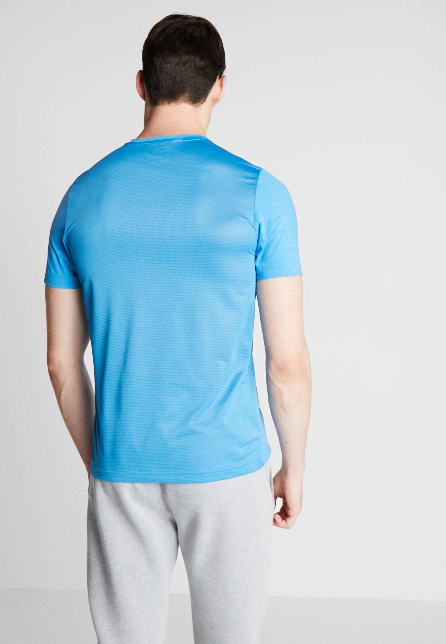 shirt Cyan GraphicT Imprimé Activchill Reebok N8OXknw0P