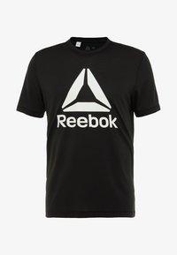 Reebok - WORKOUT READY - Camiseta de deporte - black - 4