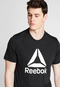 Reebok - WORKOUT READY - Camiseta de deporte - black - 3