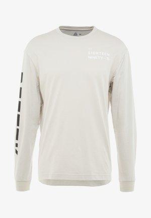 TEE - T-shirt à manches longues - stone