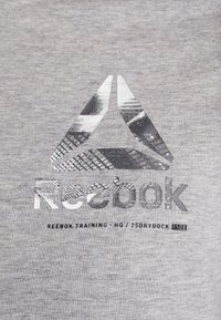 Reebok - OST SPEEDWICK GRAPHIC TEE - Triko s potiskem - mid grey heather - 6