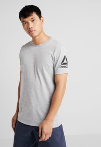 Reebok - TEE - Camiseta estampada - grey - 0