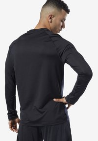 Reebok - ONE SERIES TRAINING SMARTVENT TOP - T-shirt à manches longues - heritage navy - 1