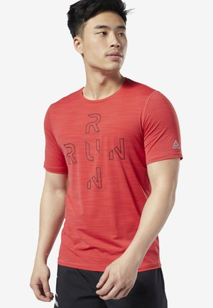 ONE SERIES RUNNING ACTIVCHILL TEE - T-shirts print - rebel red