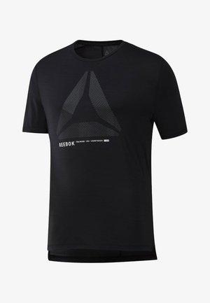 ONE SERIES TRAINING ACTIVCHILL MOVE TEE - T-shirt print - black