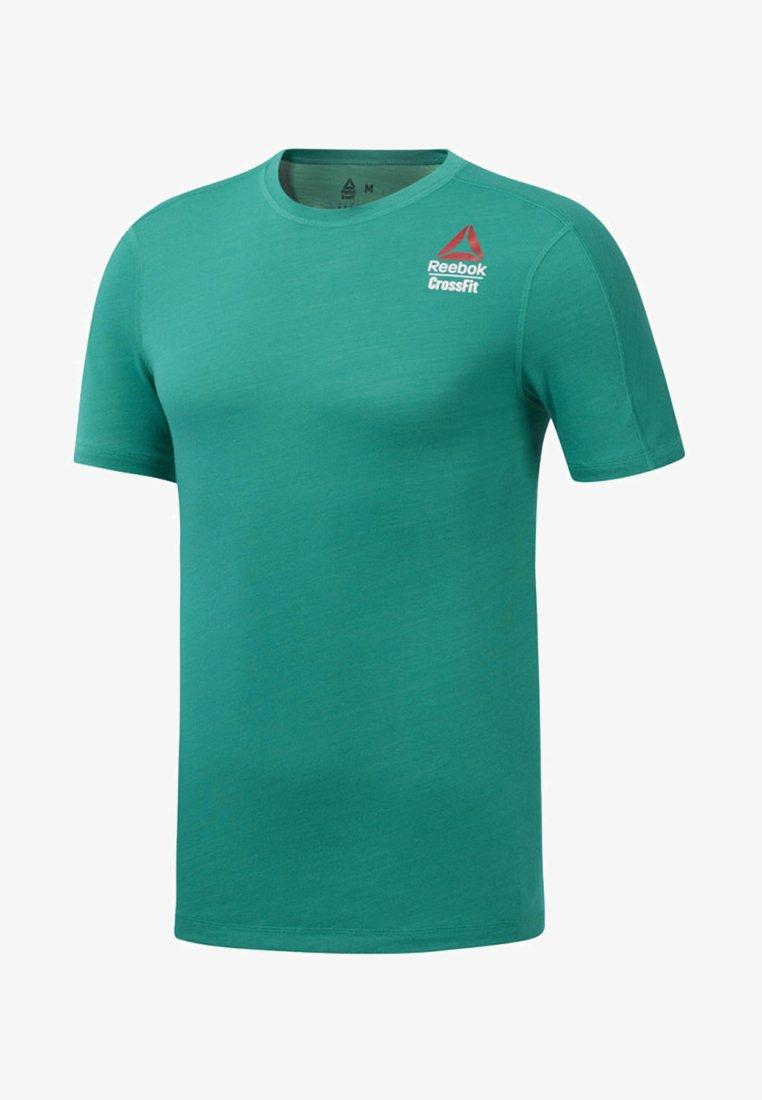 Reebok - REEBOK GAMES ACTIVCHILL TEE - T-Shirt print - green