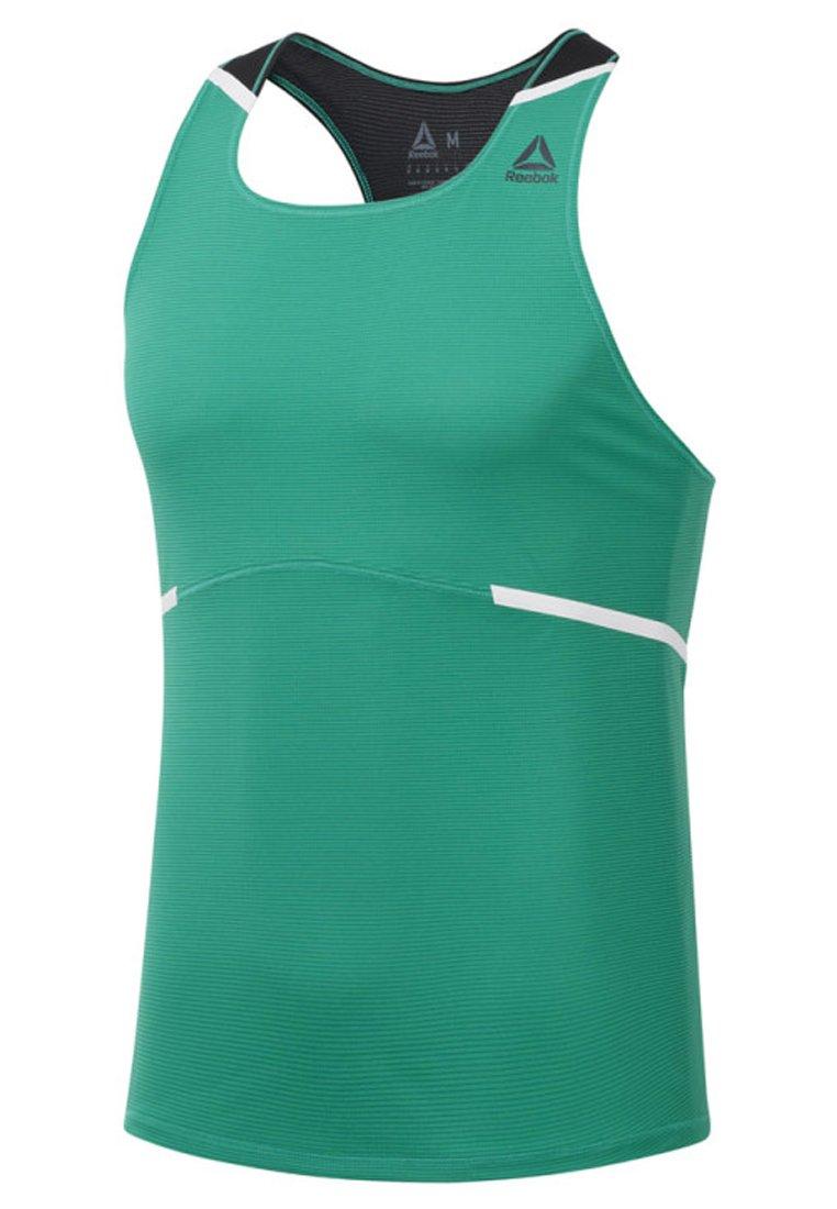 Reebok Track Club shirt SingletT De Sport Boston Green c5RjLq34A