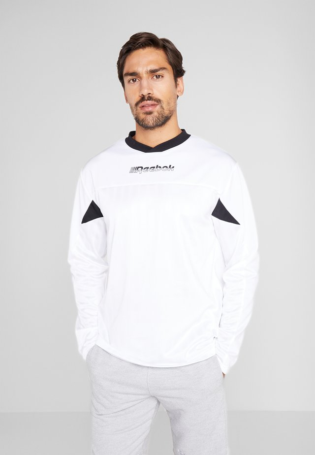 MYT TRAINING LONG SLEEVE T-SHIRT - Top s dlouhým rukávem - white
