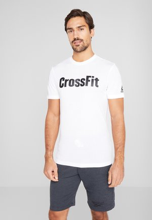 SPORT SHORT SLEEVE GRAPHIC TEE - Camiseta estampada - white