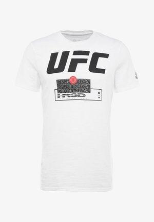 UFC FIGHT WEEK TEE - Printtipaita - white