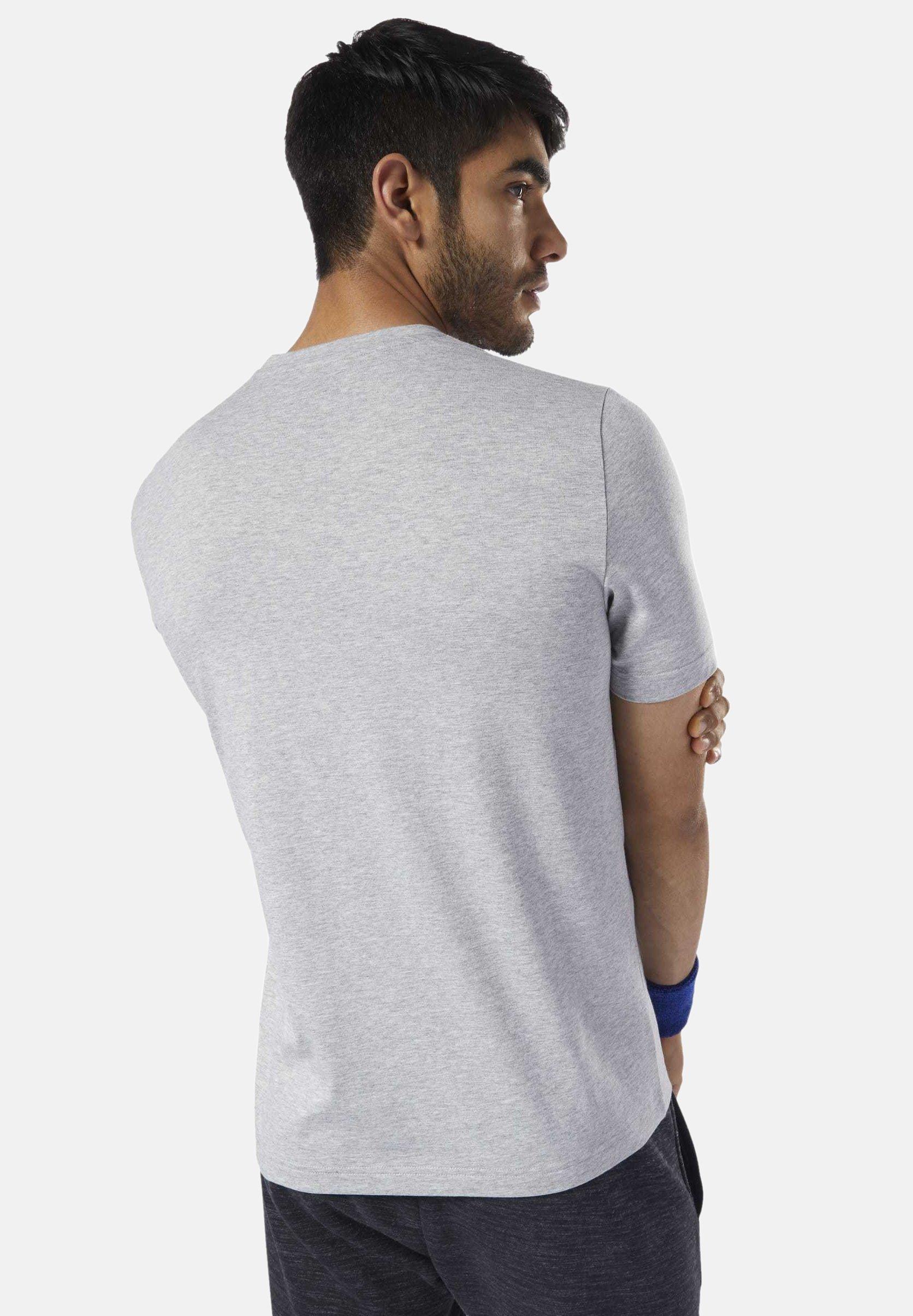 Retro Winter Reebok shirt Grey Speedwick Con Stampa TeeT 5A3qSLcj4R