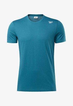 TRAINING ESSENTIALS CLASSIC TEE - T-shirt de sport - seaport teal