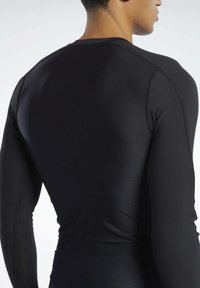 Reebok - GRAPHIC COMPRESSION TEE - Long sleeved top - black - 5