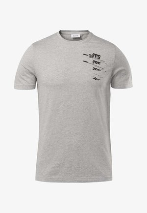 GRAPHIC TEE - T-shirt med print - grey