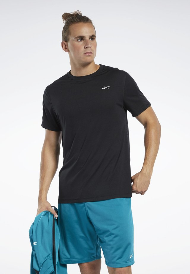 WORKOUT READY TECH TEE - T-shirts basic - black
