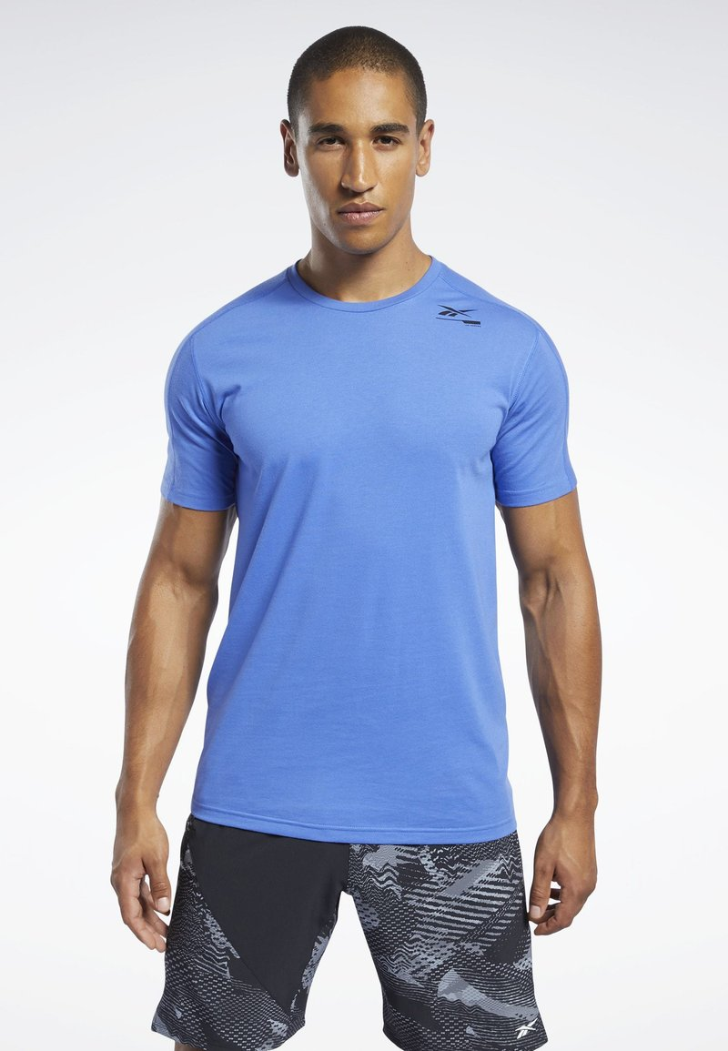 Reebok - SPEEDWICK MOVE TEE - Print T-shirt - blue
