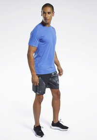 Reebok - SPEEDWICK MOVE TEE - Print T-shirt - blue - 1