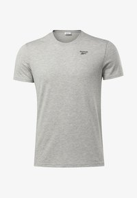 Reebok - TRAINING ESSENTIALS CLASSIC TEE - Basic T-shirt - grey - 6