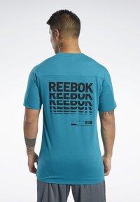 Reebok - SPEEDWICK MOVE TEE - Print T-shirt - seaport teal - 2