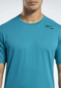 Reebok - SPEEDWICK MOVE TEE - Print T-shirt - seaport teal - 3