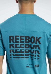 Reebok - SPEEDWICK MOVE TEE - Print T-shirt - seaport teal - 5
