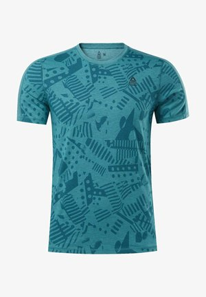 REEBOK  MOVE TEE - T-shirts print - teal