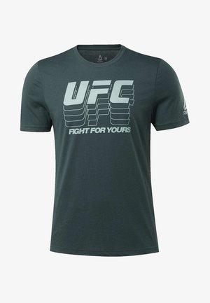 FG LOGO TEE - T-shirt imprimé - ivy green