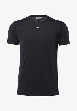 ACTIVCHILL MOVE TEE - Print T-shirt - black