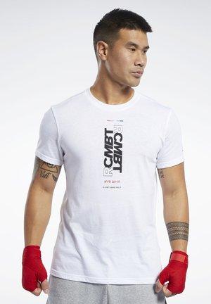 COMBAT WORDMARK TEE - T-shirt print - white