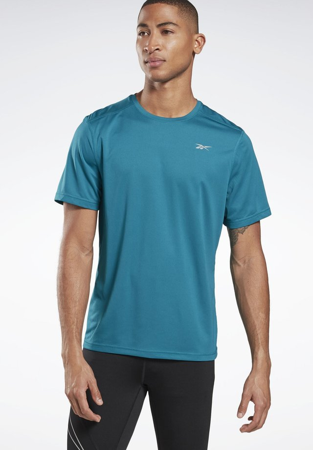 RUNNING ESSENTIALS TEE - T-shirts print - seaport teal